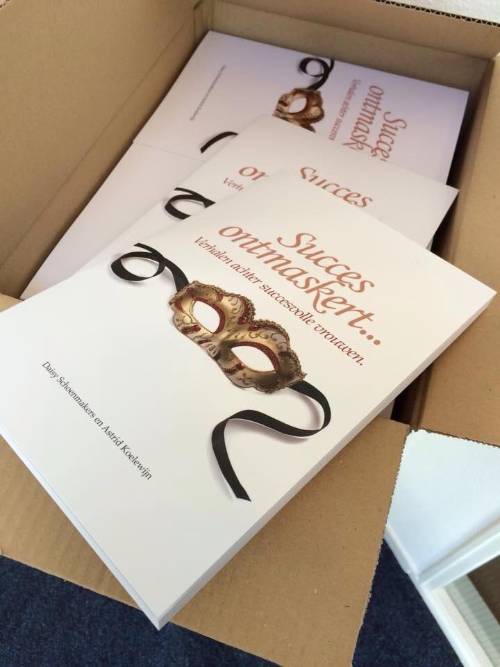 Mijn levensverhaal in een boek samen met 19 andere Succesvolle vrouwen... het verhaal wat leid naar Uitvaartzorg de Schelp