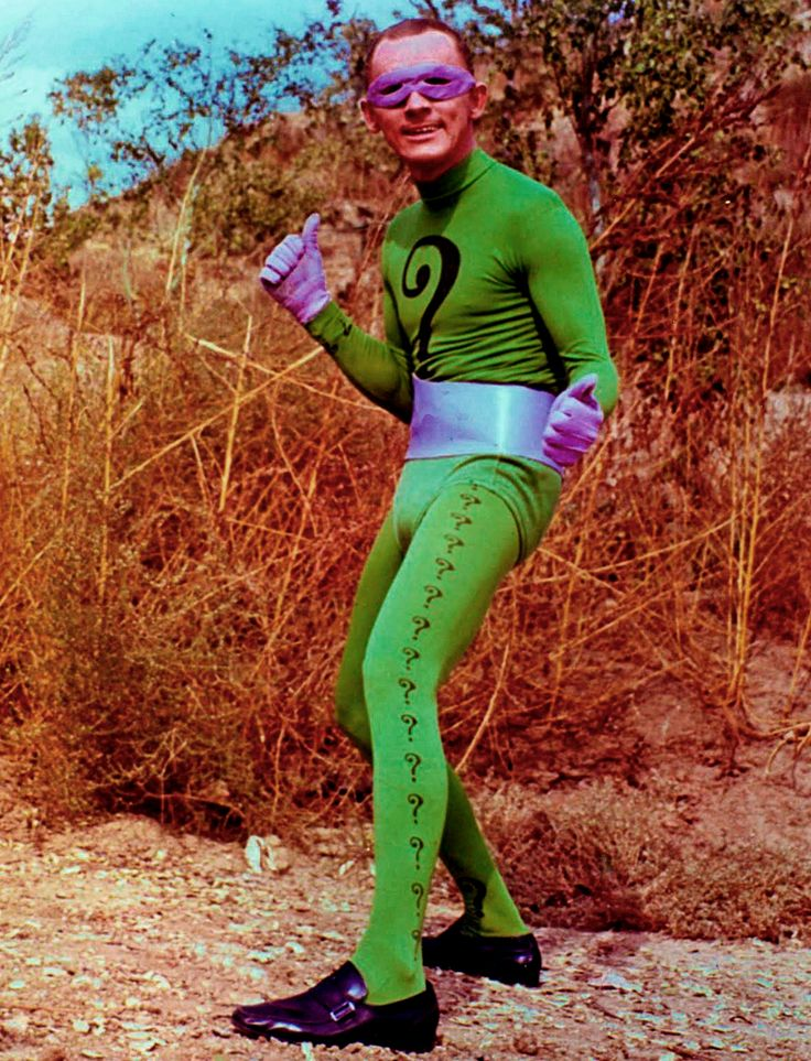 Riddler (1960s TV series) Batman, Carro do batman