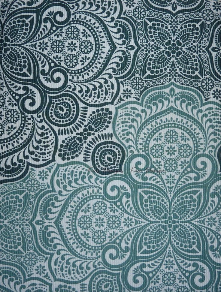 CYNTHIA ROWLEY  OMBRE MEDALLION  Shower Curtain AQUA GREEN WHITE  FREE  SHIPPING. 17 Best images about Bathroom on Pinterest   Traditional bathroom