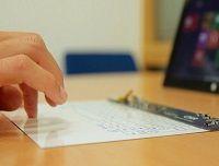 Le clavier Bluetooth tactile aussi fin que du papier