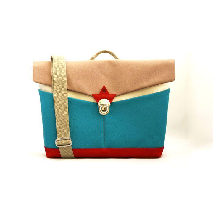 jiyoh canvas clutch shoulder bag