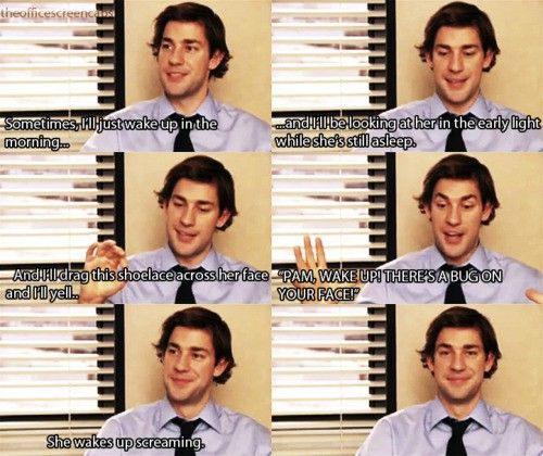 I think everyone should get to marry Jim. <---- This gifset seemed to be going in a different direction