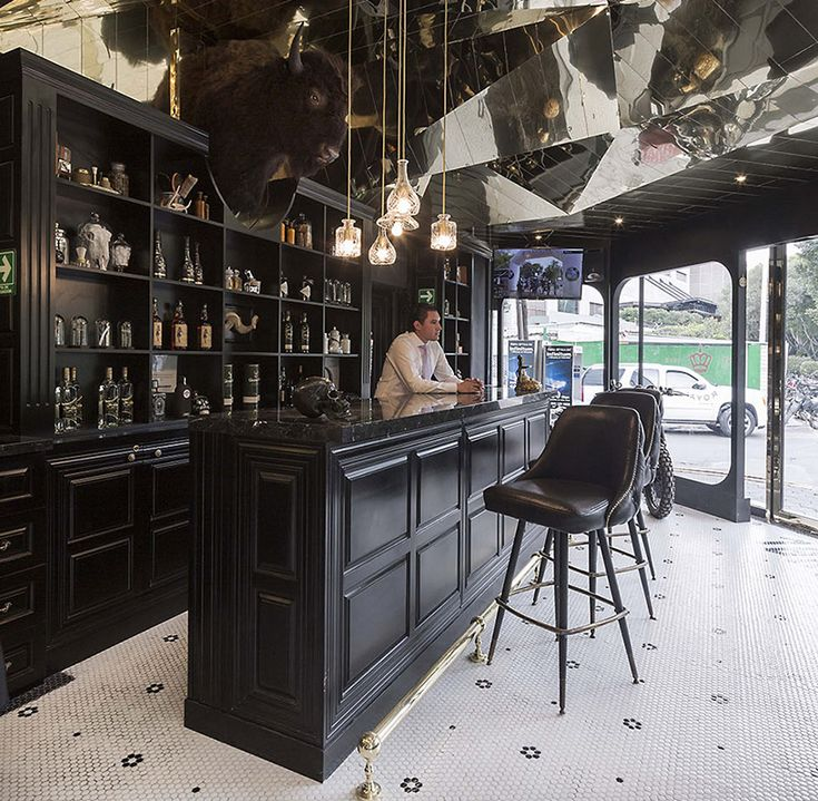 Barber Shop Design Ideas the modern day barber shop at oursalon in yyc exclusively for Row Studio Barberia Royal Barber Shop Mexico City Designboom