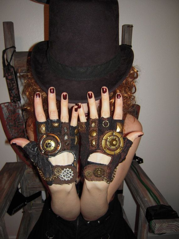 WOMENS Steampunk Moonhoar Monster Glove by moonhoar on Etsy, $30.00