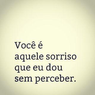 Vc é aquele sorriso que eu dou  . (Siga -me os bons! ) . #BoaTarde #Deus #Brasil #UmaFraseParaRecordar