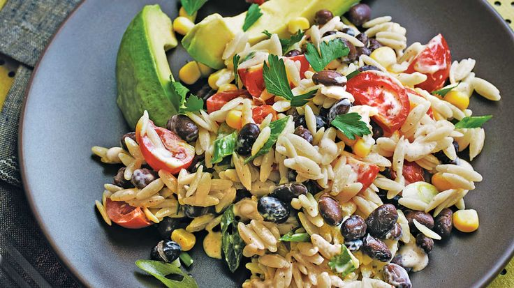 Orzo Salad with Spicy Buttermilk Dressing - Our Best Buttermilk Recipes - Southern Living - Creamy avocado and a fiery buttermilk dressing make this good-for-you pasta salad feel like a hearty meal. The recipe is easy to double, and you'll have most of the ingredients in your pantry, so it's the perfect solution for a last-minute party or potluck.    Recipe: Orzo Salad with Spicy Buttermilk Dressing
