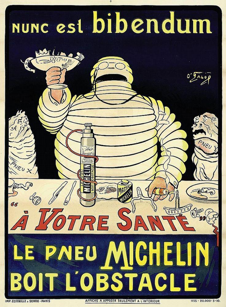 * publicité Michelin - O'Gallop (Marius Rossillon 1867-1946) , c.1898