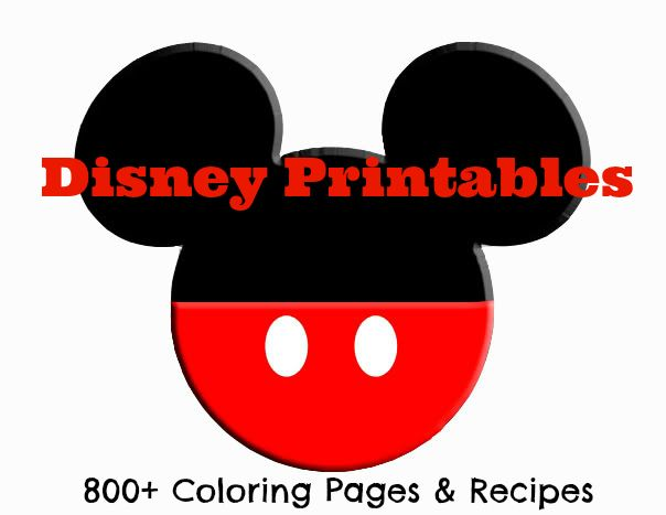 fabulous list of disney printables over 800 coloring pages and recipes