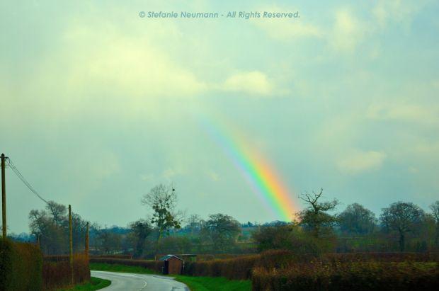 """#IMBOLC 2017 - EIN STÜCK VOM #REGENBOGEN & #KBFUPDATES: """"Wir alle tragen unser individuelles #Licht und somit unser ganz persönliches Stück vom Regenbogen in uns. Wenn wir unser Licht zusammen leuchten lassen, wird der #Regenbogen als Ganzes erkennbar."""" - Stefanie Neumann   #KokopelliBeeFree #KBFPhotography #Wahrheit"""