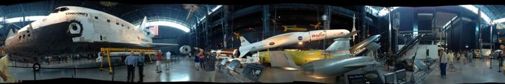 Student Tour Visits the Space Shuttle Discovery