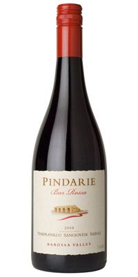 """This is a bottle of our Pindarie """"Bar Rossa"""" Blend. A mix of 70% Tempranillo, 25% Sangiovese & 5% Shiraz. A fantastic medium bodied wine, complimenting many mediterranean dishes... pass the pasta!!"""