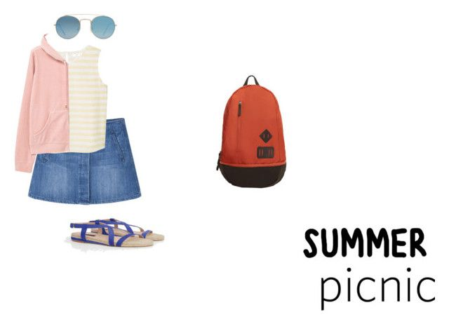 """""""Summer picnic (Outfit only) with products from Mango fashion"""" by leeloowheeler ❤ liked on Polyvore featuring MANGO, Violeta by Mango and Mangofashion"""