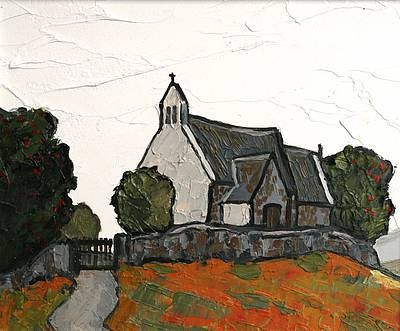 David BARNES - Kilgwrrwg Church, Monmouthshire