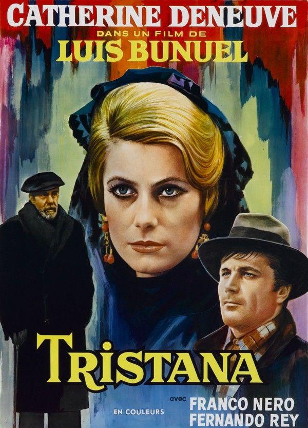 DVD CINE 2516 - Tristana (1970) España. Dir: Luis Buñuel. Drama. Vellez. Sátira. Feminismo. Sinopse: Don Lope acolleu a Tristana no seu fogar para cumprir unha promesa feita aos seus pais. Pero a rapaza é moi fermosa e convértese na obsesión do ancián, que a forza de tempo e de paciencia consegue os seus favores. Con todo, cando ela coñece a un novo pintor que a namora, decide cambiar radicalmente o rumbo da súa vida.