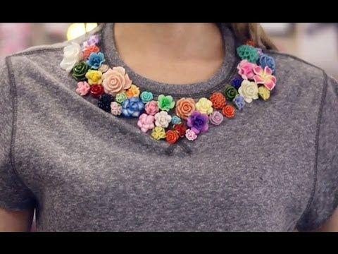 ▶ P.S.- I made this...Floral Sweatshirt - YouTube