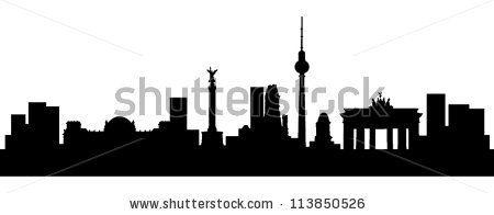 Skyline Berlin - stock vector