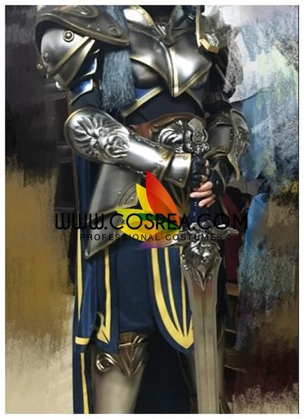 World of Wacraft Movie Stormwind Guard Complete Cosplay Costume - Cosrea  - 4