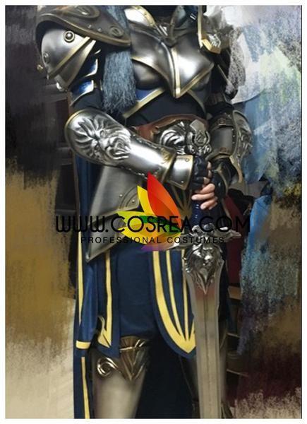 World of Wacraft Movie Stormwind Guard Complete Cosplay Costume - Cosrea  - 4