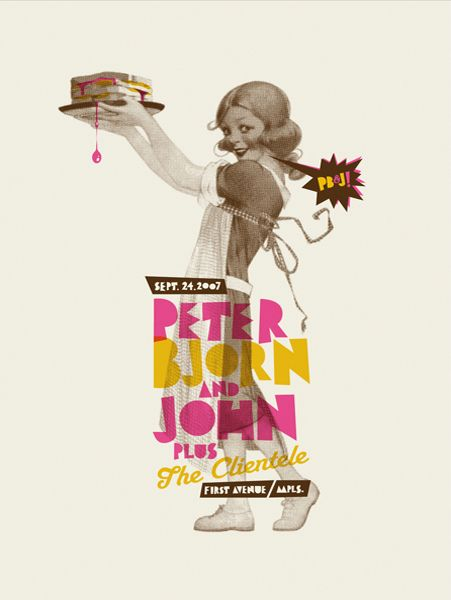 Florafauna Posters Pt.2 by Paul Gardner, via Behance