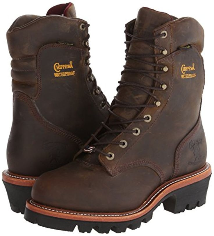 "The #Chippewasuperlogger has an electrical shock resistant Vibram sole which also has a 2"" heel. It is essential for logger boots to have great traction to maintain stability and keep its occupants firmly grounded.  http://best-workboots.com/chippewa/chippewa-9-waterproof-steel-toe-super-logger-boot-review/"