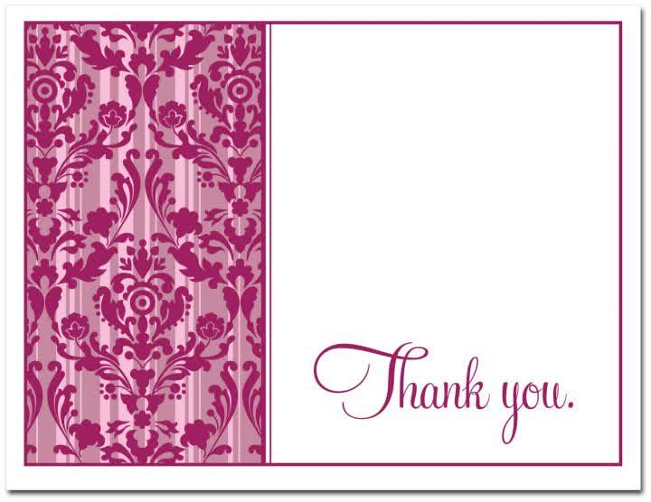 501 best Card images on Pinterest Free printable, Baby shower - thank you card template
