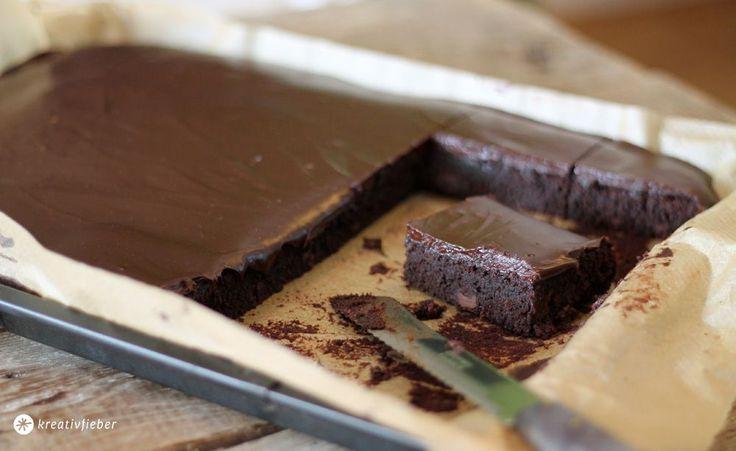 brownies mit fudge blech