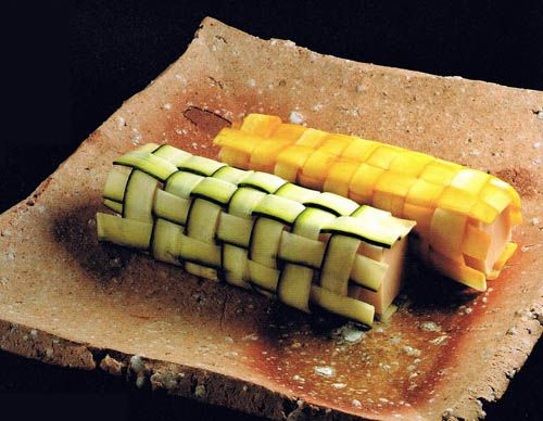 Salmon Mousse and Sole Wrapped in Zucchini