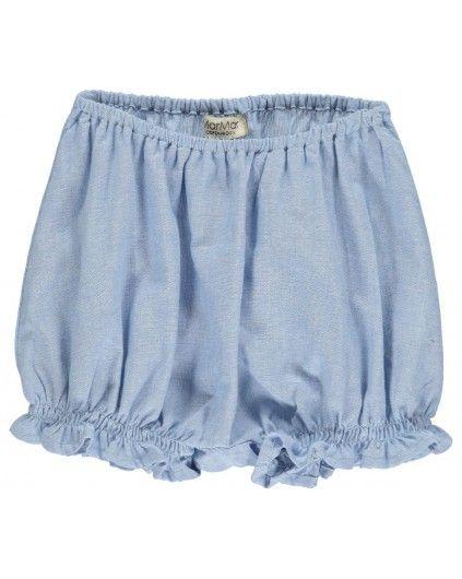 Pusle Linen Chambray - Light Blue - Baby