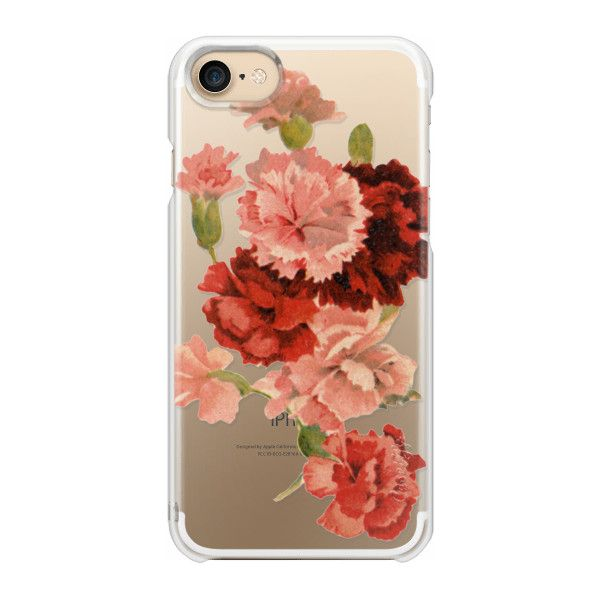 Vintage Floral - iPhone 7 Case And Cover ($35) ❤ liked on Polyvore featuring accessories, tech accessories, iphone case, apple iphone case, floral iphone case, vintage floral iphone case, iphone cases and vintage iphone case
