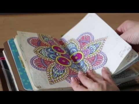 (1) Minun päiväkirjani | Bullet Journal & Ilona Rauhala - YouTube
