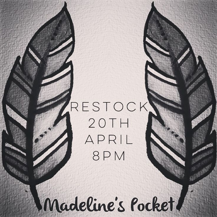 Some pieces from our brand new handmade clothing line will be launching on Monday night and I am beyond excited! Set your alarms and stalk www.madelinespocket.com.au to make sure you don't miss you xx