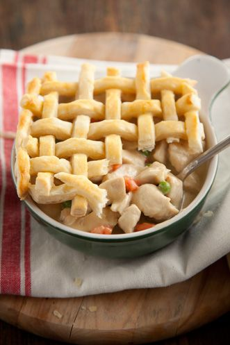 Paula Deen Lady and Sons Chicken Pot Pie, I love all of her delicious reciepes!