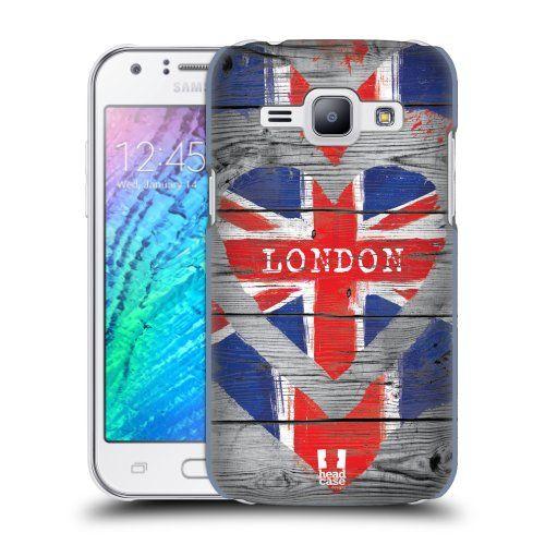 Pouzdro na mobil Samsung Galaxy J1 HEAD CASE LOVE LONDON