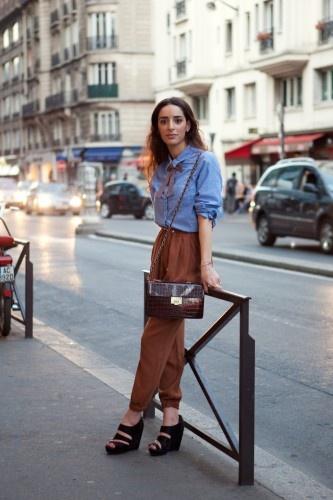 French dressing: Street Fashion, French Street, Bowtie, Style Inspiration, Street Style, Paris Street Styles