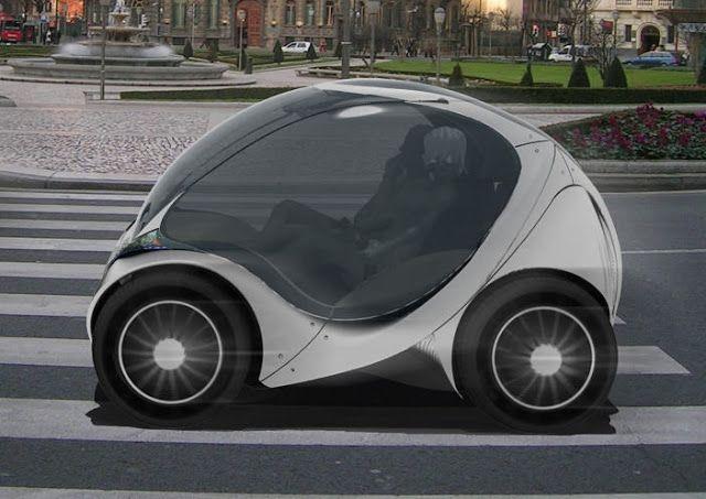 'Citycar'  la flexibilidad de una bicicleta y la la comodidad de un coche convencional en un mismo vehículo