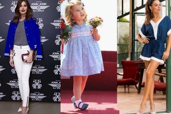 Camila Queiroz, princesa Charlotte e Isis Valverde / Fotos: Instagram/Divulgação