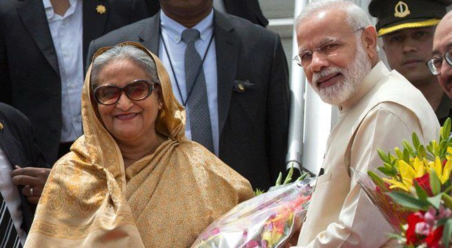 """New Delhi: Prime Minister Narendra Modi on Saturday assured Bangladesh of an """"early solution"""" to the emotive Teesta water sharing issue, a pact on which has remained elusive for nearly seven years. The two sides inked nearly two dozen pacts in key areas of defence and civil nuclear..."""