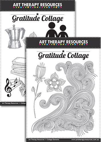FREE Download: Gratitude Collage Elements