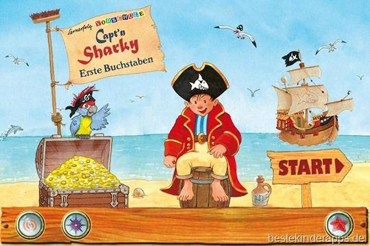 Lernerfolg Vorschule Capt N Sharky Erste Buchstaben App