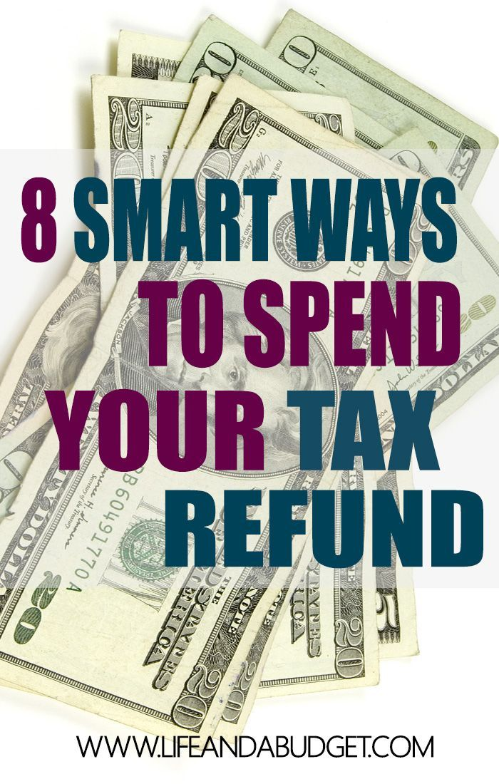 Before you spend your tax refund, here are 8 smart tips for spending your tax refund so you can get ahead. via @lifeandabudget