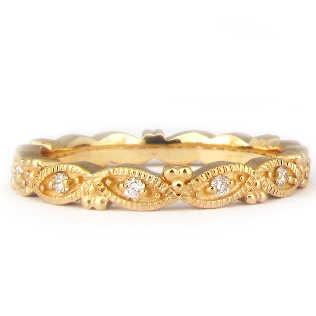 Marquis Diamond Wedding Band   14k yellow gold marquis diamond wedding band      $1500