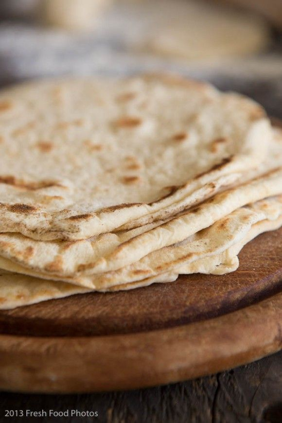 Tortilla wraps - zelf maken - simoneskitchen.nl