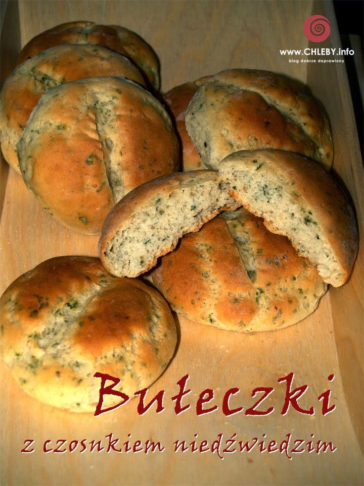 Pieczenie chleba i inne przepisy: bułki