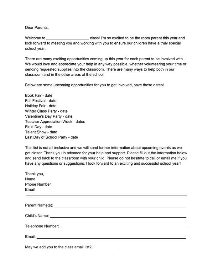 a867748ccf2d855cdc49ae4a00d18352 Teacher Parent Introduction Letter Template on sample school, teacher parent, for networking, preschool teacher, jewelry business,