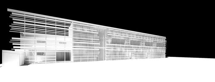 Scuola materna e scuola primaria ad Olbia Bim model by Luca Garbarino rendered in 3dstudio max