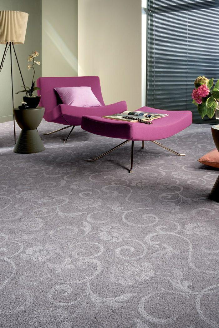 Wohnzimmerteppich - 50 Beispiele, wie Sie den Wohnzimmerboden mit Teppich verlegen