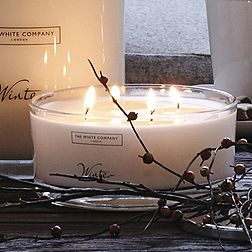 Winter Large Candle