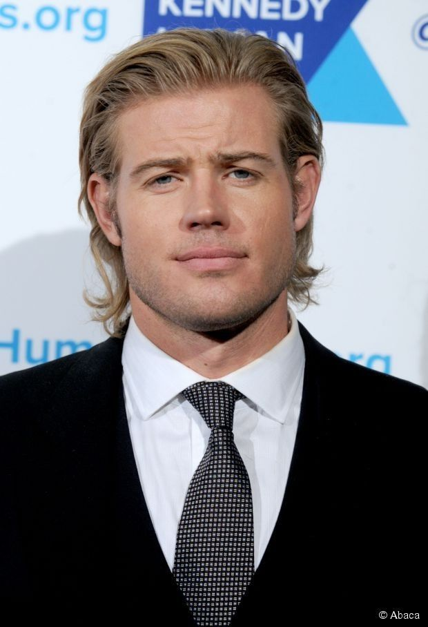 Matt-gelled and ultra cool Trevor Donovan rocks the medium-length look like no other!