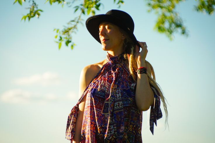 Peek - A - Boo Shoulder Summer Dress - Ethical Fashion - Summer Dress for your festival or summer adventures