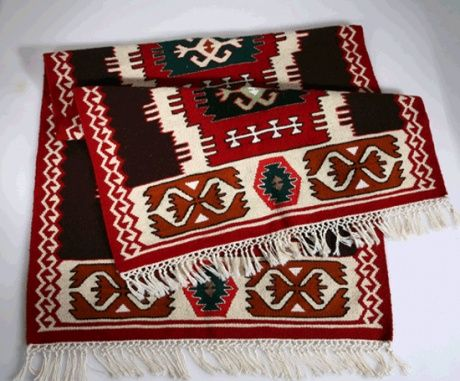 Carpets are traditional part of Albanian furniture.